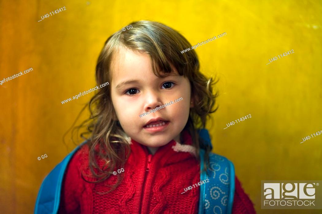 Stock Photo: Young girl MR.