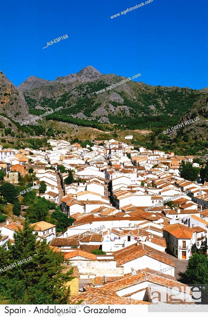 Stock Photo: Spain - Andalousia - Grazalema Spain.