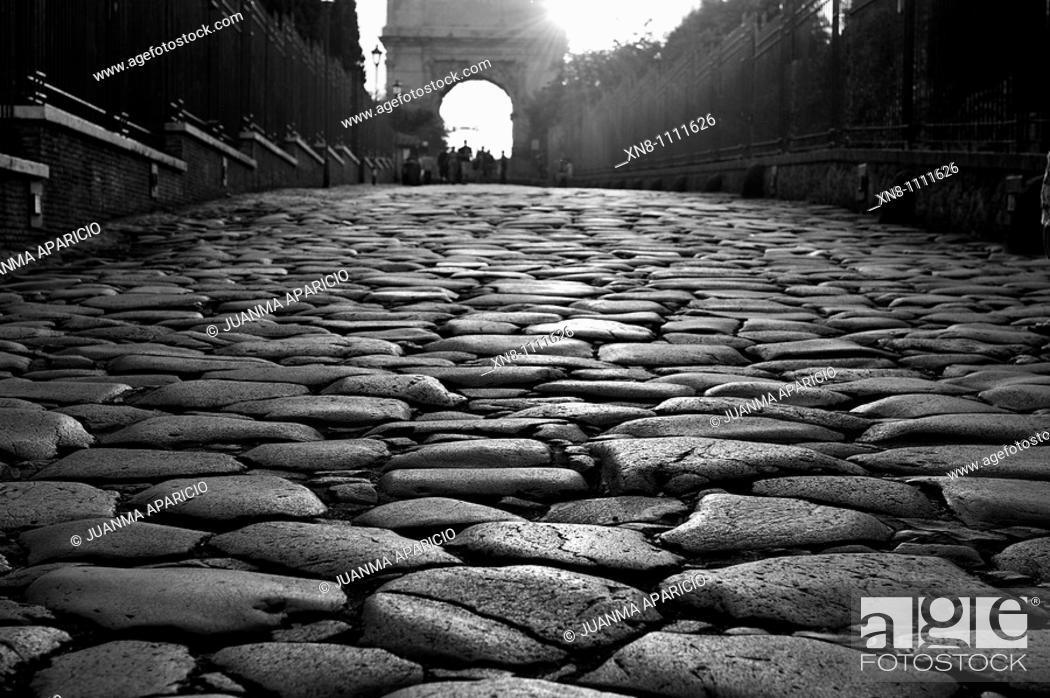 Stock Photo: Roman Road.