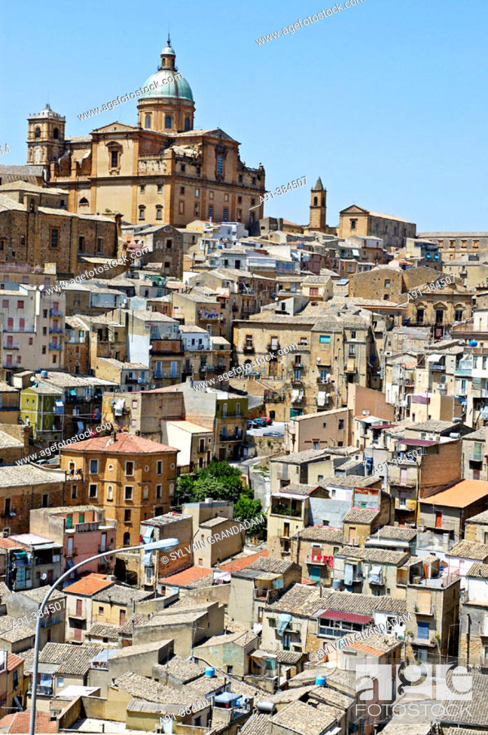 Stock Photo: Piazza Armerina. Sicily. Italy.