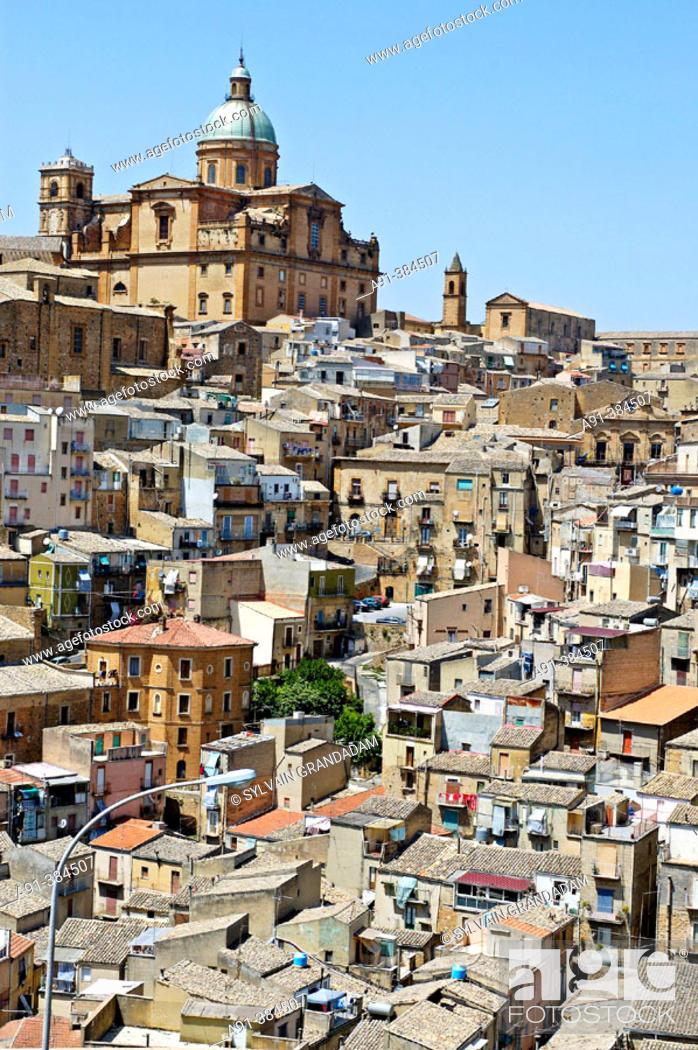 Stock Photo: Piazza Armerina. Sicily. Italy.