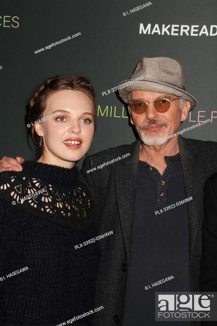 """Stock Photo: Odessa Young, Billy Bob Thornton 12/04/2019 The Los Angeles Special Screening of """"""""A Million Little Pieces"""""""" held at The London West Hollywood at Beverly Hills."""