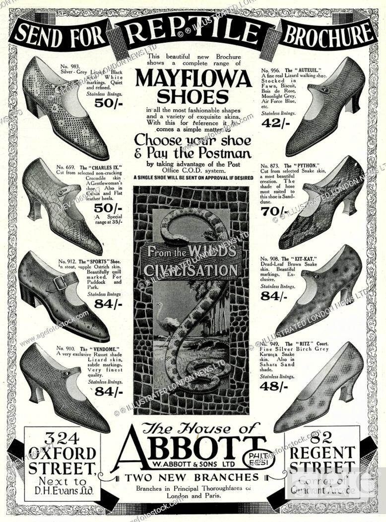 Complete range of Mayflowa women reptile shoes  Available