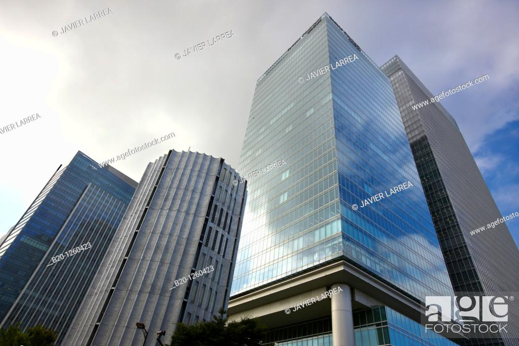 Stock Photo: Gran Tokyo South Tower, Pacific Century Place, Marunouchi Business area, Tokyo, Japan.