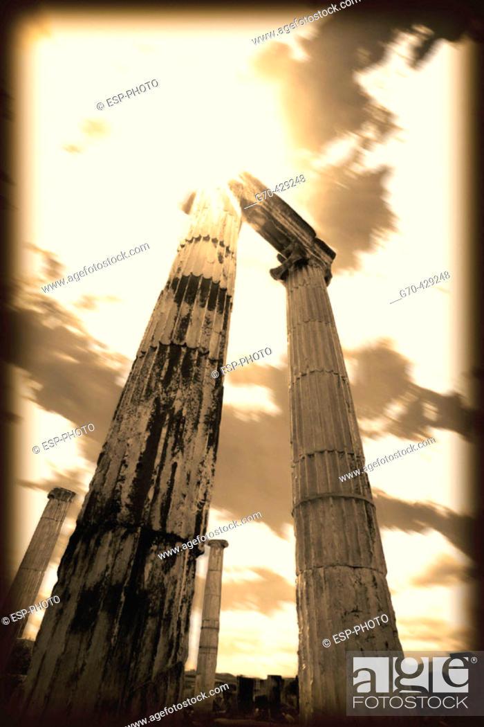 Stock Photo: Ruins of ancient Aphrodisias. Turkey.