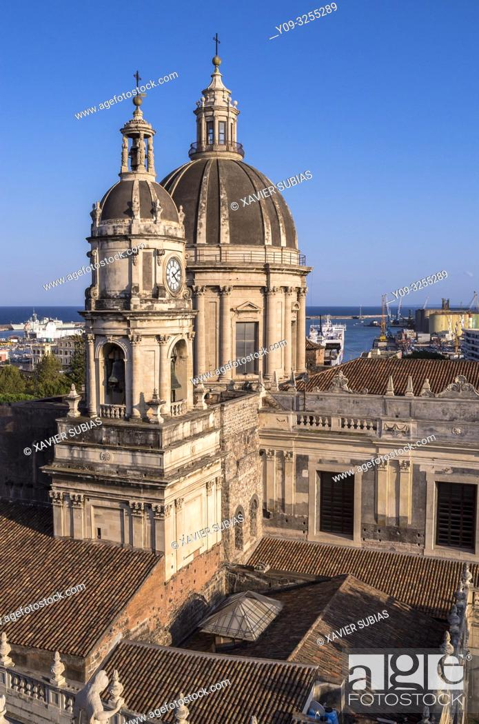 Imagen: Saint Agathe Cathedral, Catania, Sicily, Italy.