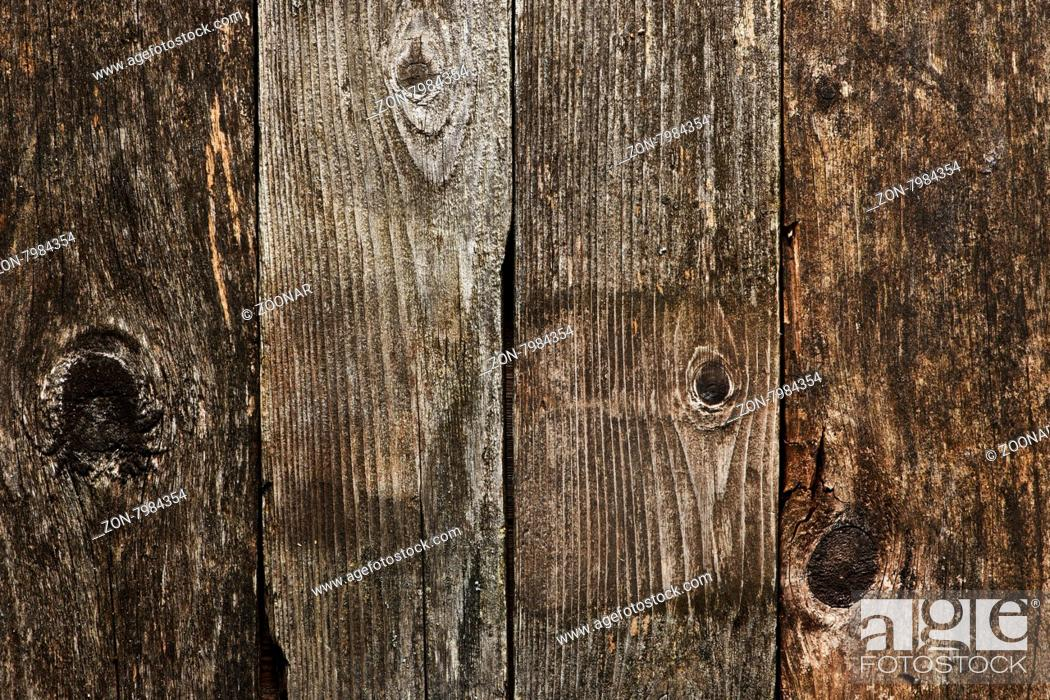 Stock Photo: Old wooden background.