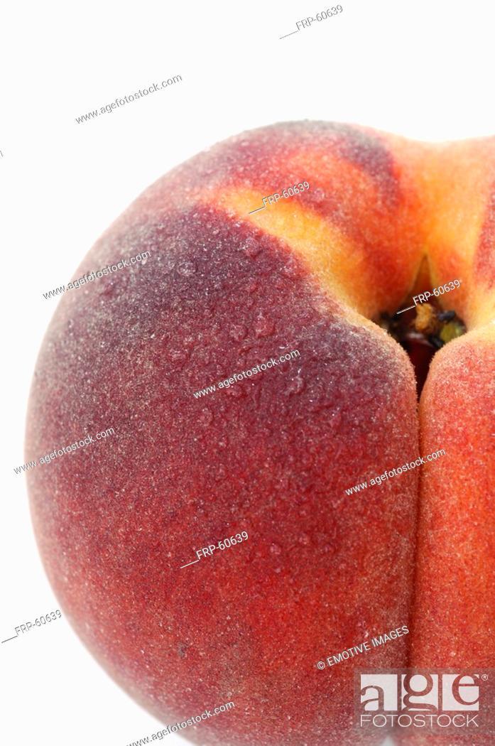 Stock Photo: Peach.