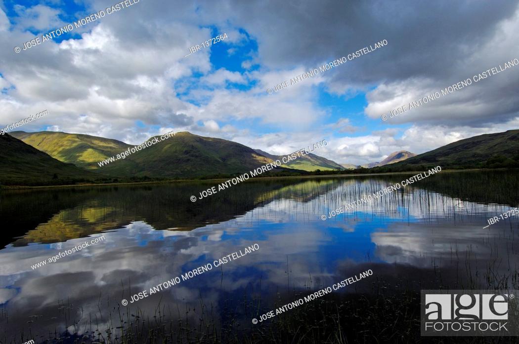 Stock Photo: Loch Awe, Argyll and Bute, Highlands, Scotland, United Kingdom, Europe.
