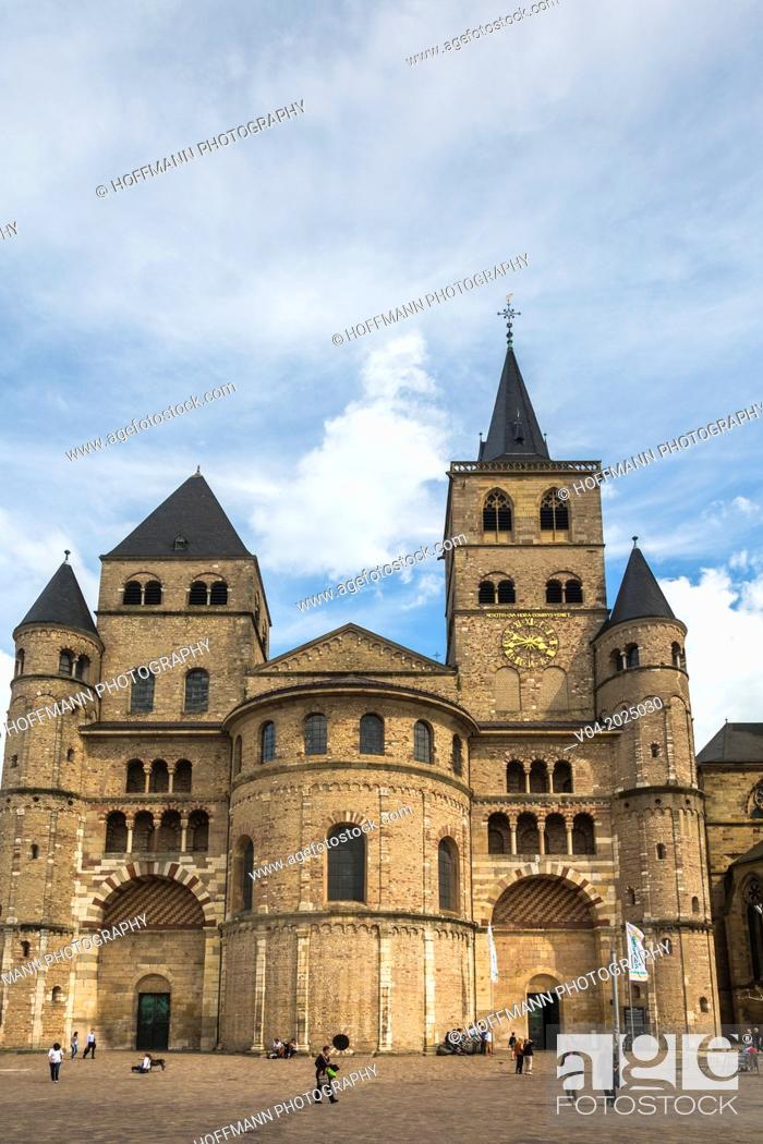 12th century Cathedral of Trier (Treves), the oldest