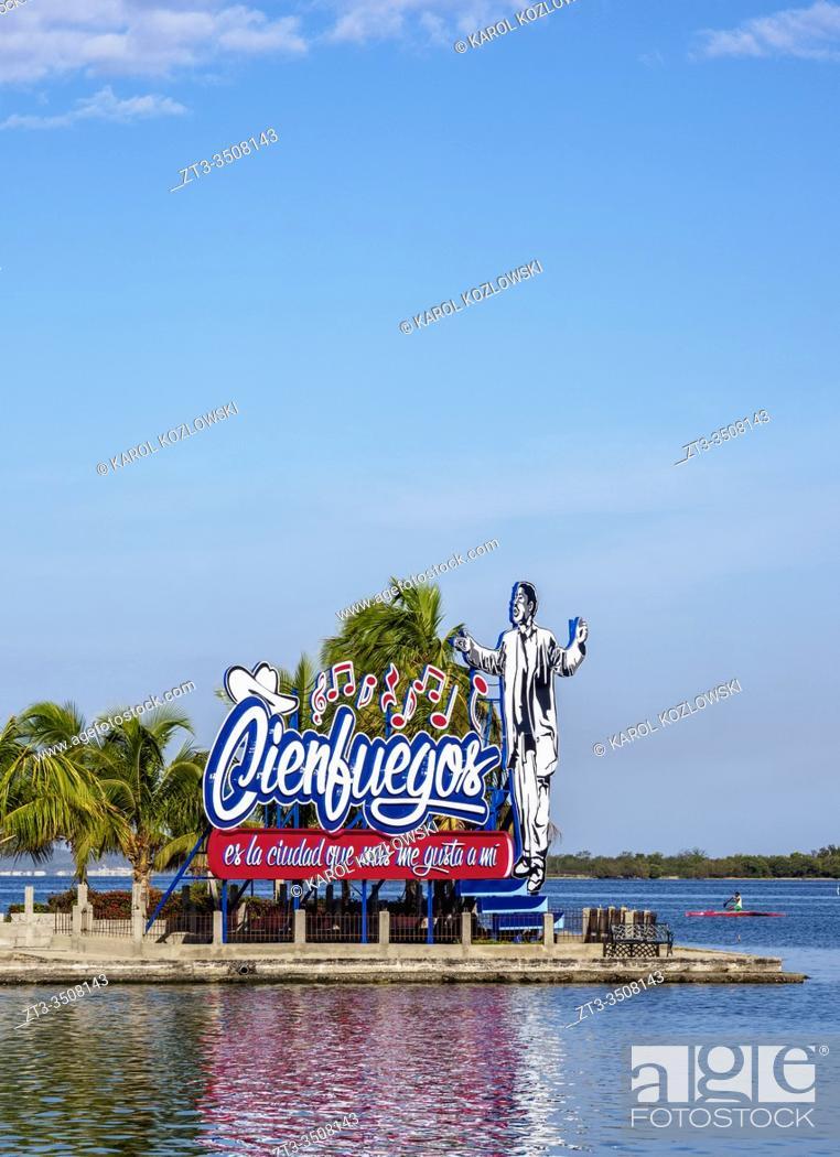 Stock Photo: Benny More Memorial, Cienfuegos, Cienfuegos Province, Cuba.