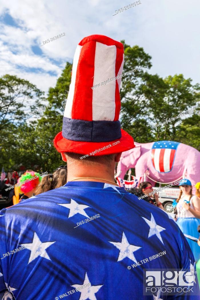 USA, Massachusetts, Cape Ann, Rockport, Fourth of July