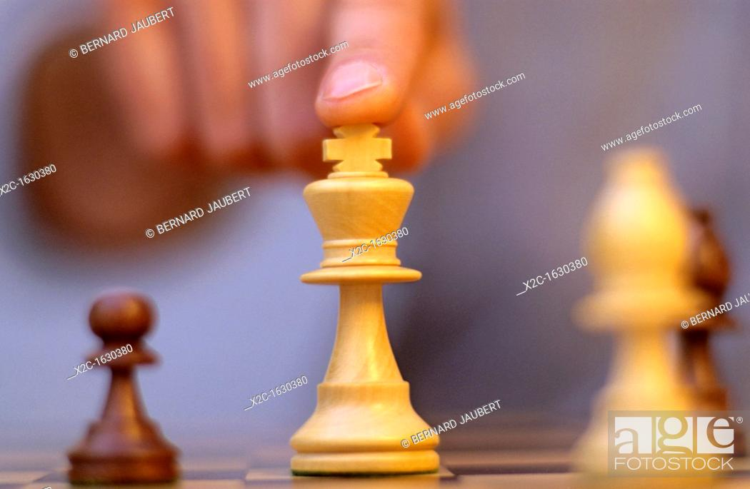 Stock Photo: Chess game.