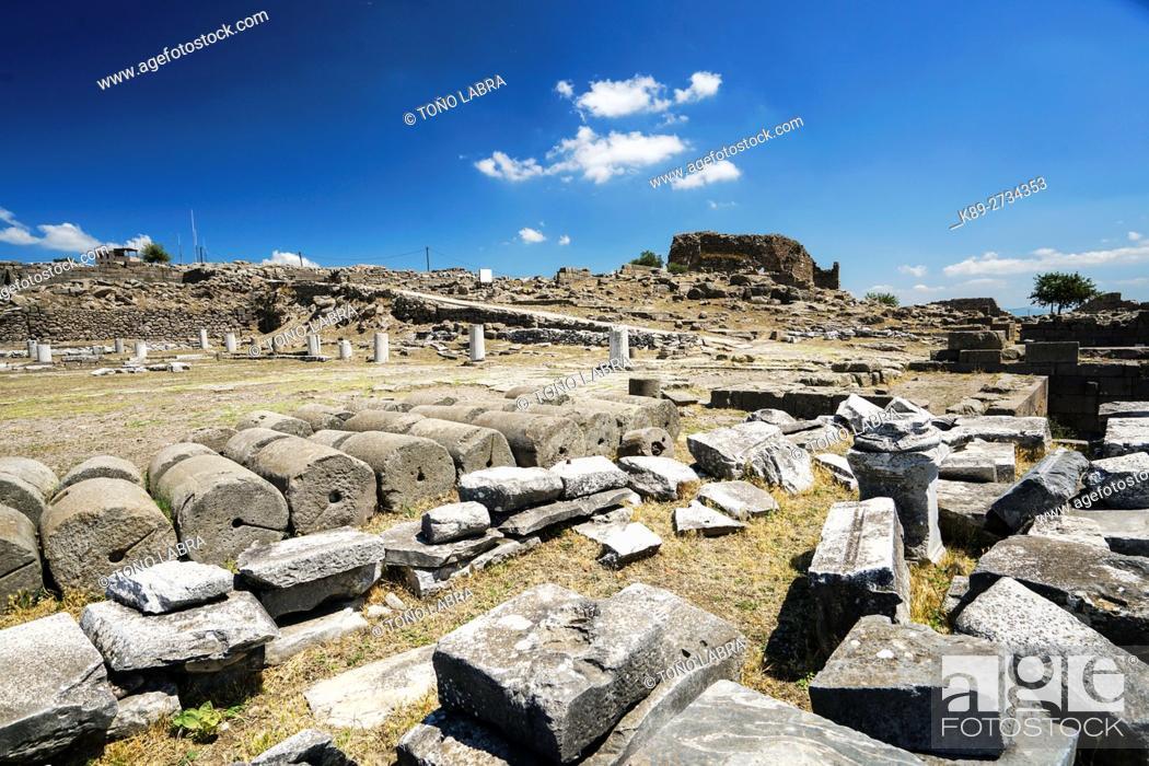 Stock Photo: Pergamon. Ancient Greece. Asia Minor. Turkey.