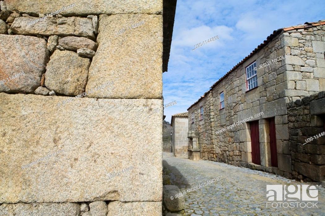 Stock Photo: Marialva, small town declarated Historic Village, in Beira Alta  Guarda District  Portugal.