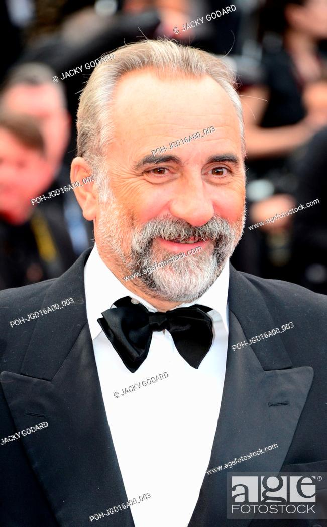 Stock Photo: Antoine Duléry Opening ceremony, red carpet 69th Cannes Film Festival May 11, 2016.