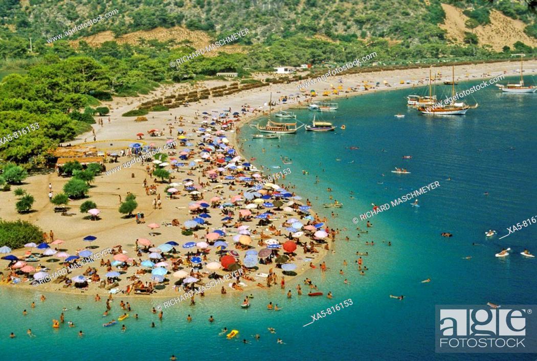 Stock Photo: Turkey, Oludeniz, near Fethiye, holiday beach fun.