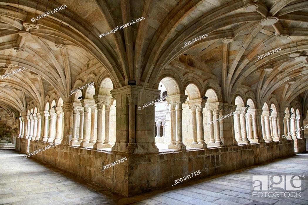 Imagen: Monasterio de San Esteban, Mosteiro de Santo Estevo de Ribas de Sil, Ribeira Sacra, Ourense, Galicia, Spain.