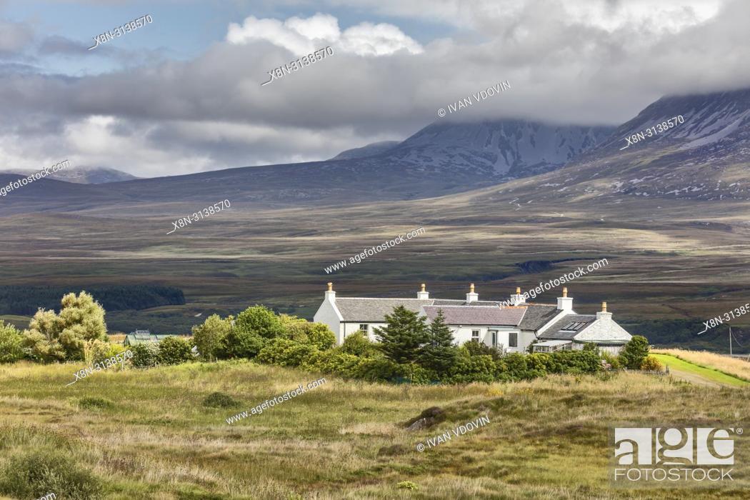 Photo de stock: Landscape, Islay, Inner Hebrides, Argyll, Scotland, UK.