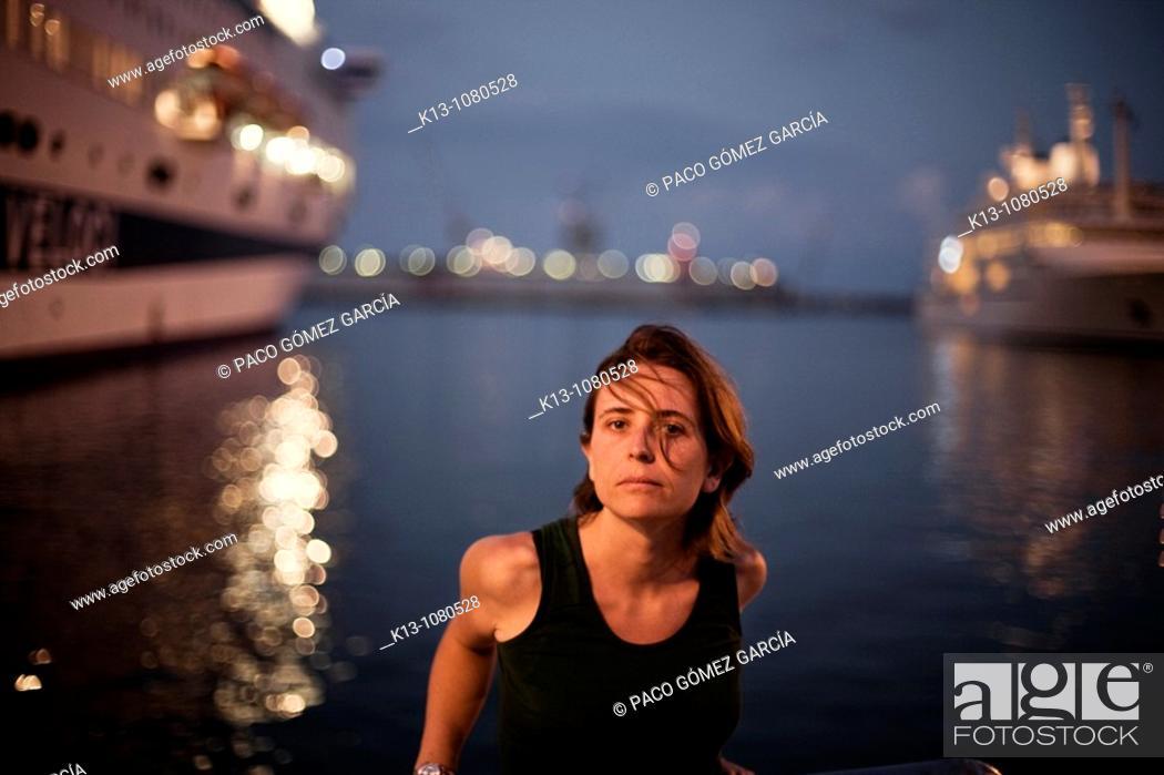 Stock Photo: Port of Palermo Sicily Italy.