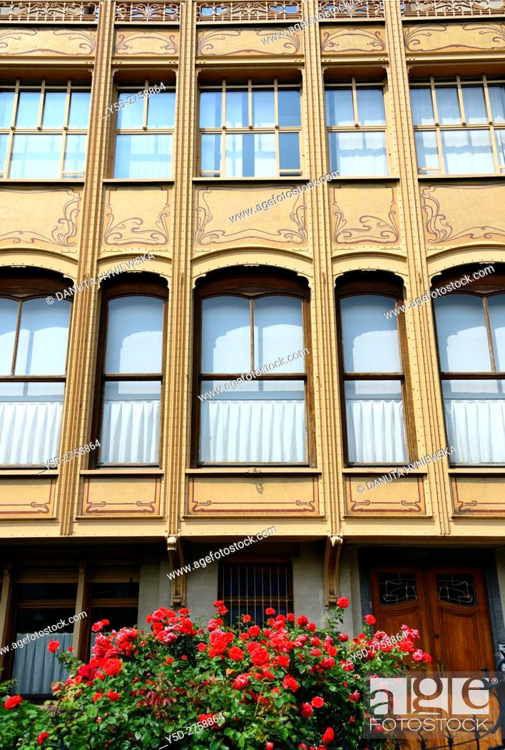 Imagen: Town house designed in 1895 by Victor Horta for Edmond van Eetvelde, together with Hotel Tassel, Hotel Solvay and the own House and atelier of Victor Horta it.