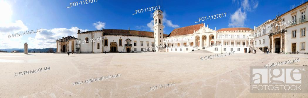 Stock Photo: University of Coimbra in Portugal.