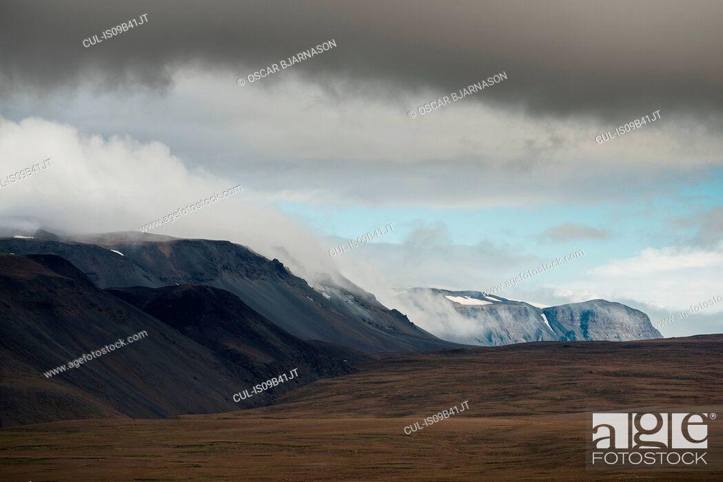 Stock Photo: Highlands, Iceland.