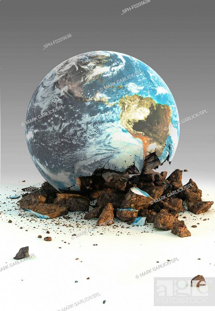 Stock Photo: Image of Environmental Damage.