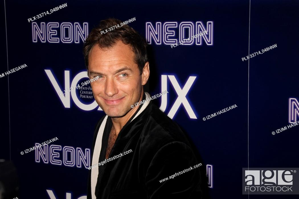 "Imagen: Jude Law 12/05/2018 The Los Angeles Premiere of """"Vox Lux"""" held at the Arclight Hollywood in Los Angeles, CA Photo by Izumi Hasegawa / HNW / PictureLux."