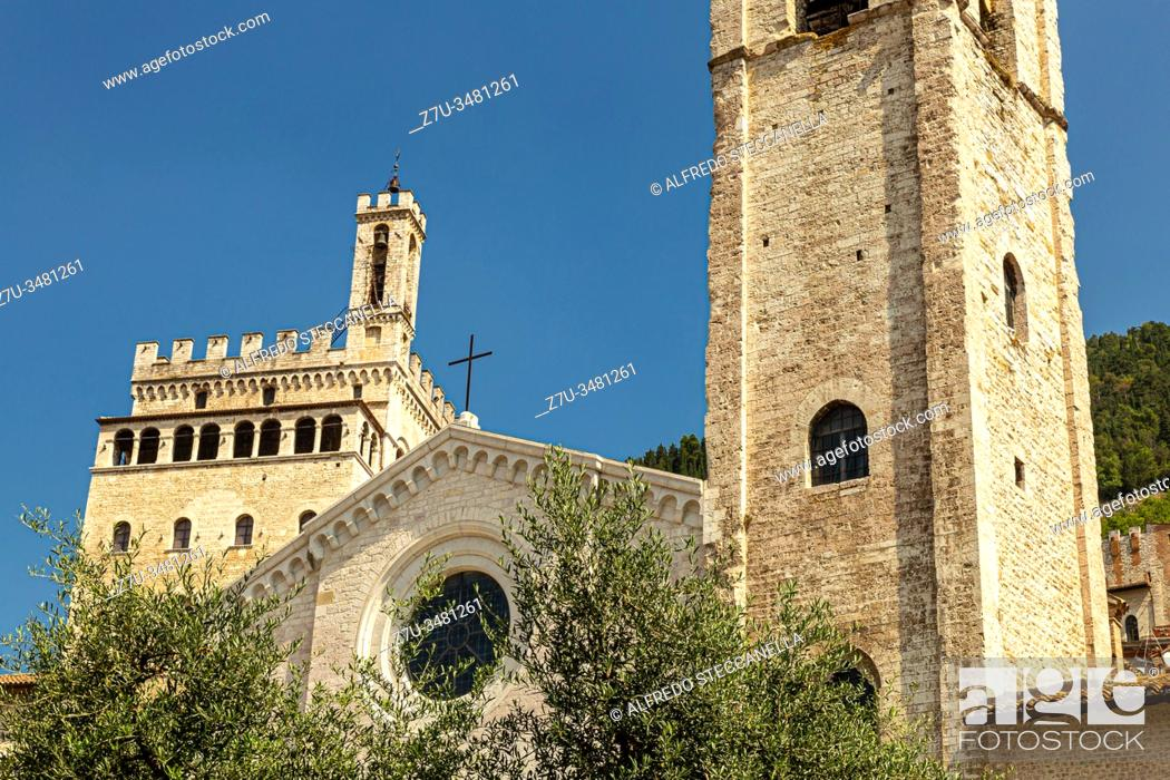 Imagen: Photos of the beautiful medieval streets and houses of the Umbrian towns (Italy).