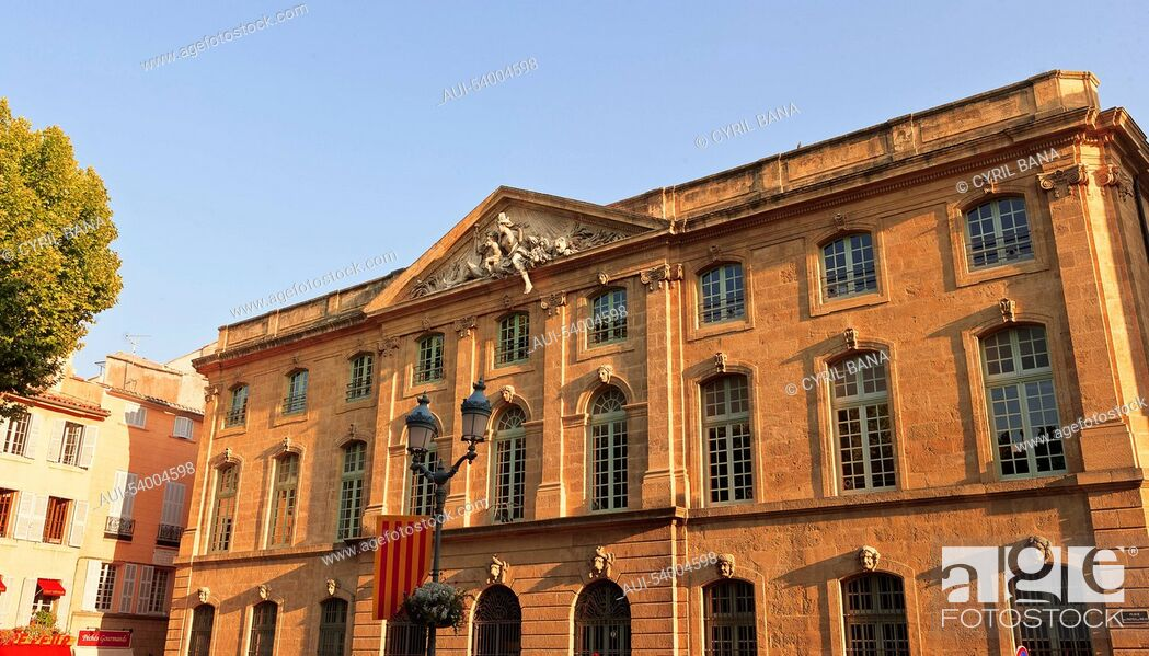 Stock Photo: France, Aix en France, Provence, building.