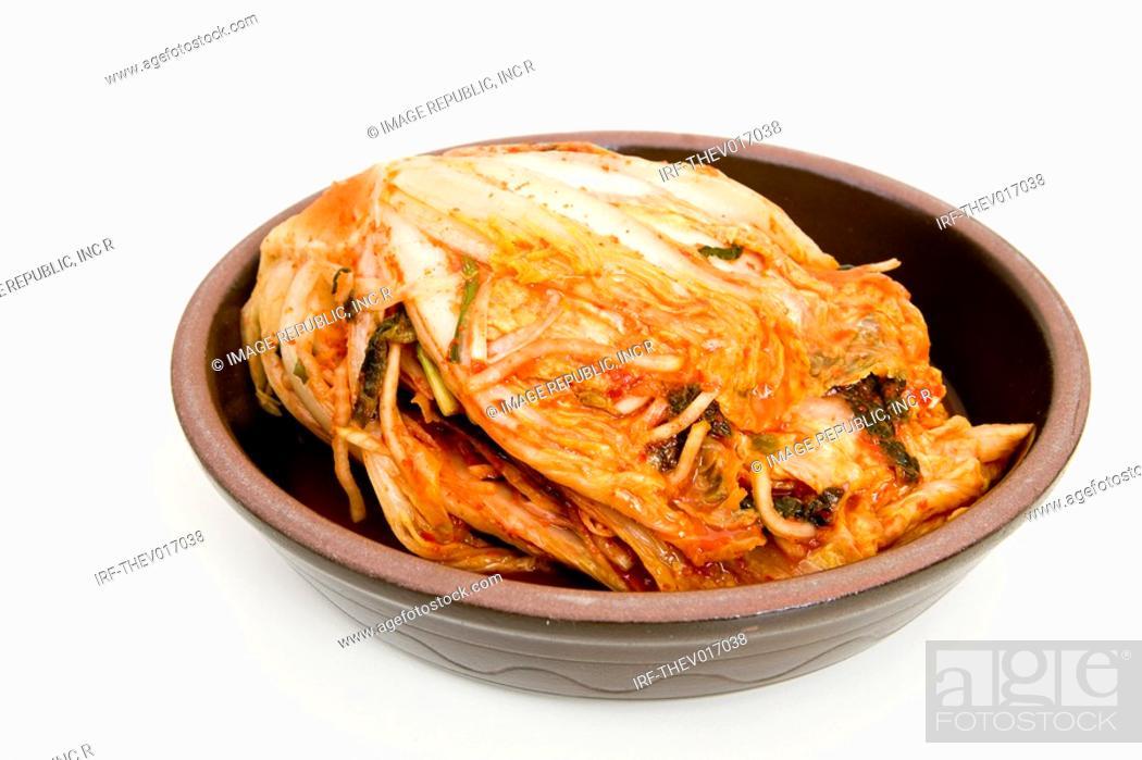 Stock Photo: Korean traditional food, Kimchi.