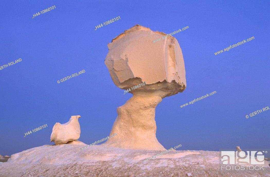 Stock Photo: Egypt, North Africa, desert, National park, mushro.