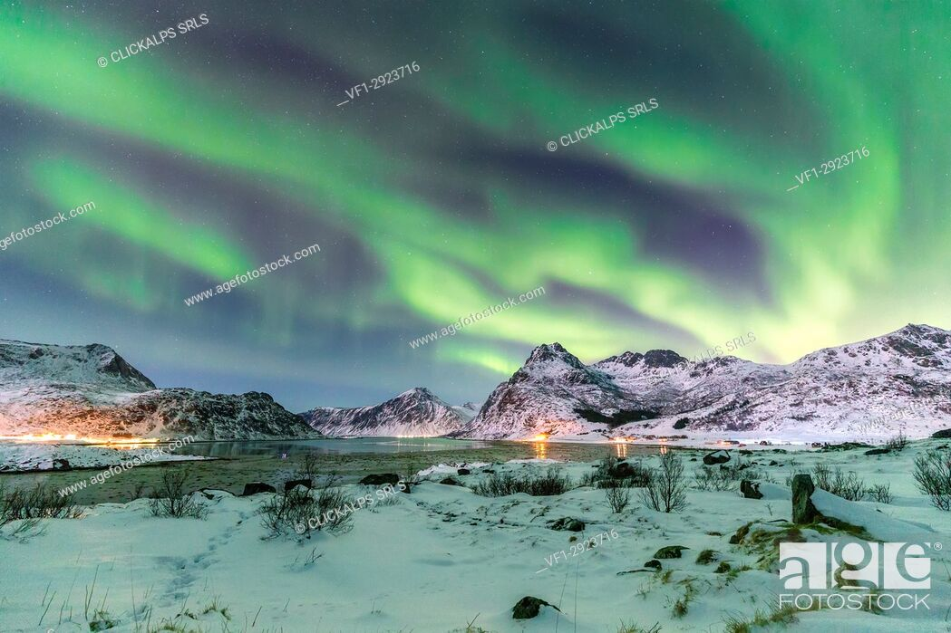 Stock Photo: Lofoten Islands, Svolverar district, Norway.
