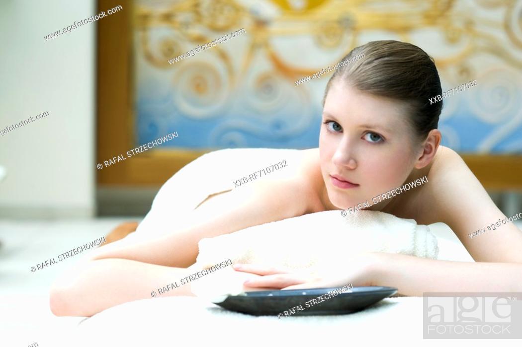 Stock Photo: Massage.