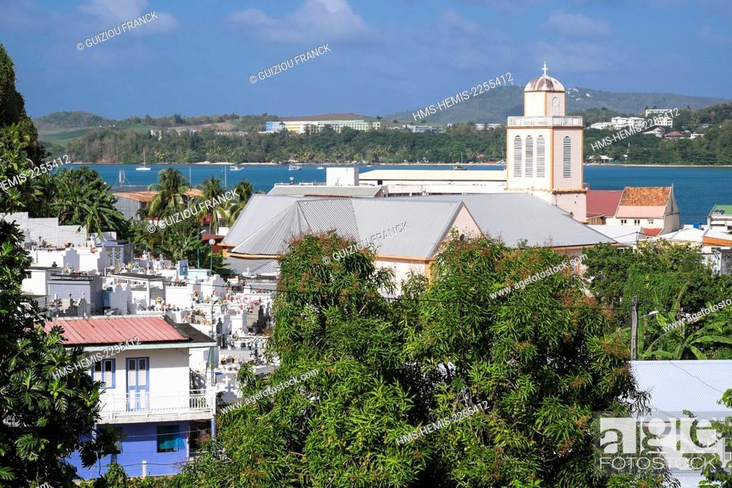 Stock Photo: France, Martinique, La Trinite, Sainte Trinite church was completed in 1710.