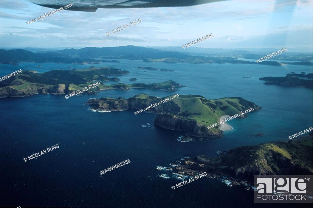 Stock Photo: New Zealand - North Island - Northernland - Bay of Islands.