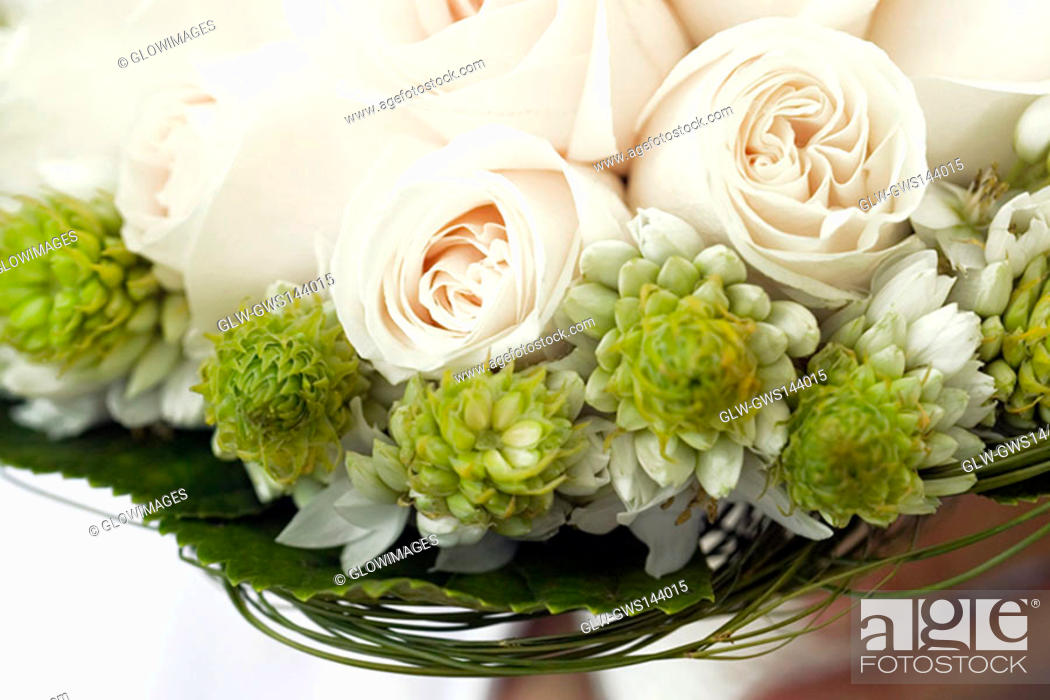 Stock Photo: Close-up of a bouquet of flowers.