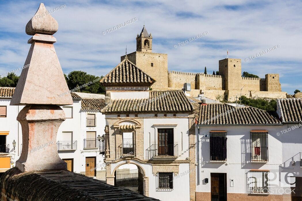 Imagen: Alcazaba de Antequera, siglo XIV , Antequera, Andalucia, Spain.