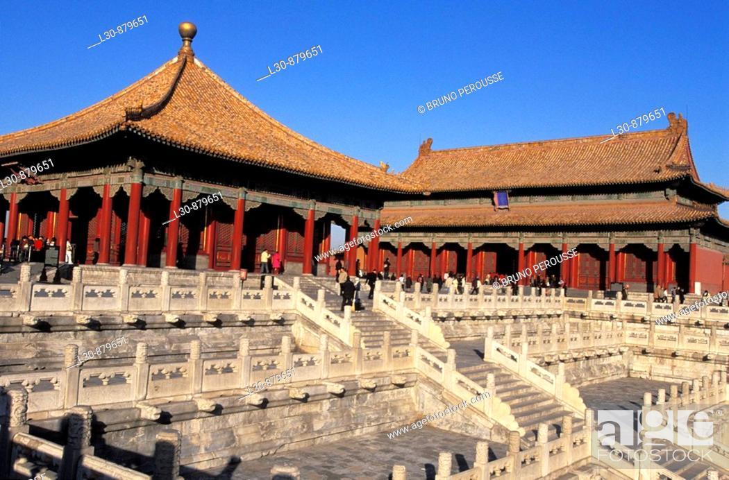 Stock Photo: Forbidden city, Beijing, China.