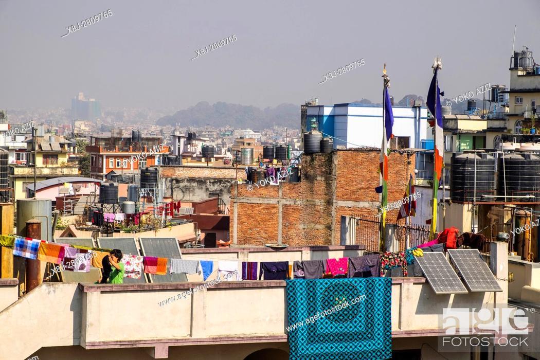 Photo de stock: Nepal, Kathmandu, landscape.
