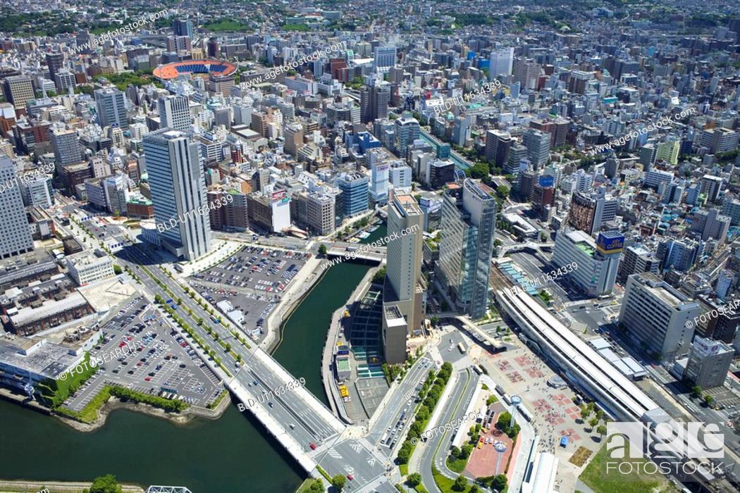 Stock Photo: Yokohama city.