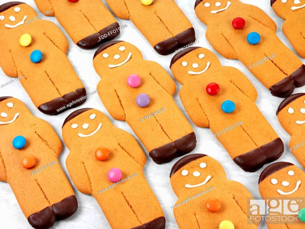 Stock Photo: Gingerbread Men.