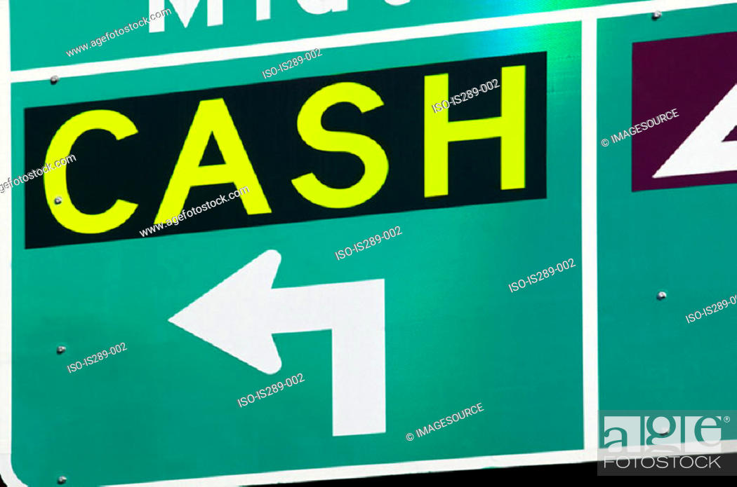 Stock Photo: Cash sign.