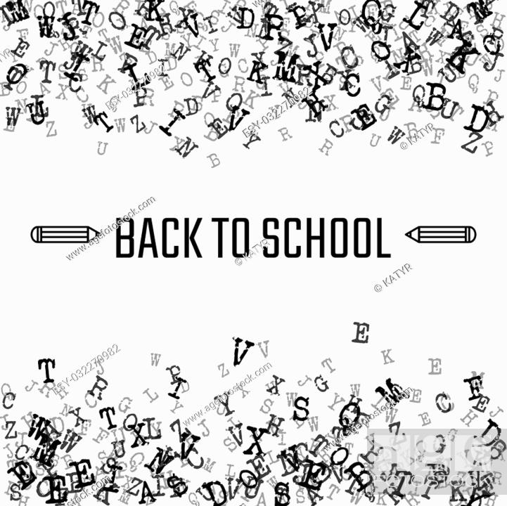 Vector Illustration Of Back To School For Design Website Background Banner Stock Vector Vector And Low Budget Royalty Free Image Pic Esy 032270982 Agefotostock