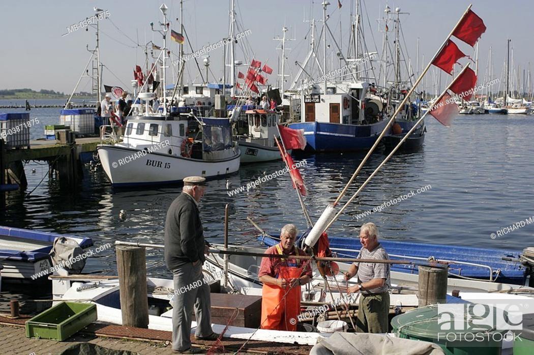 Germany, Schleswig-Holstein, models harbor, landing place