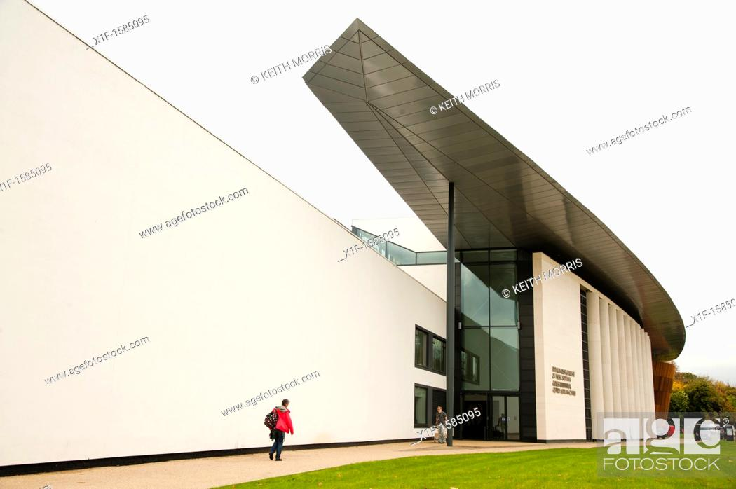 Stock Photo: The Royal Welsh College of Music and Drama RWCMD Cardiff, Wales UK.