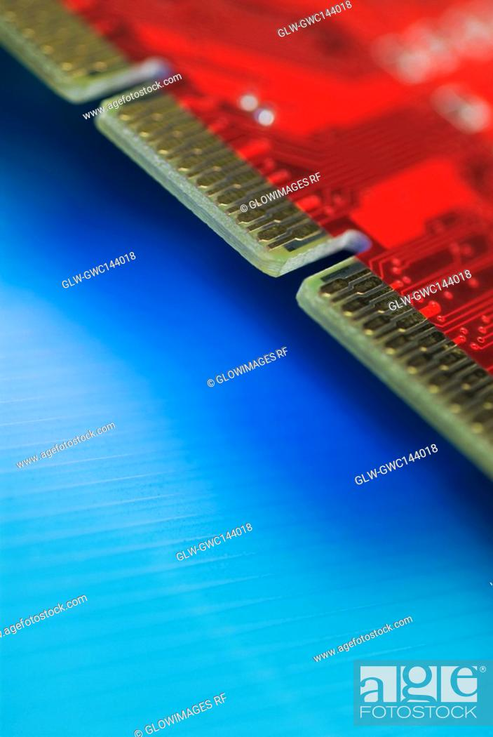 Stock Photo: Close-up of a circuit board.