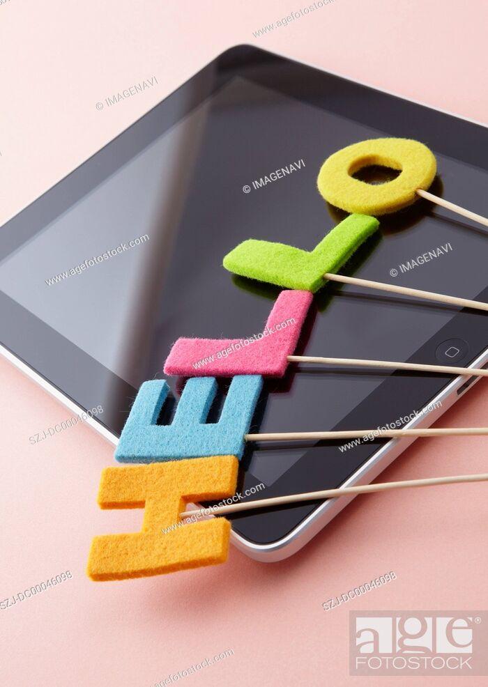 Imagen: Tablet PC.