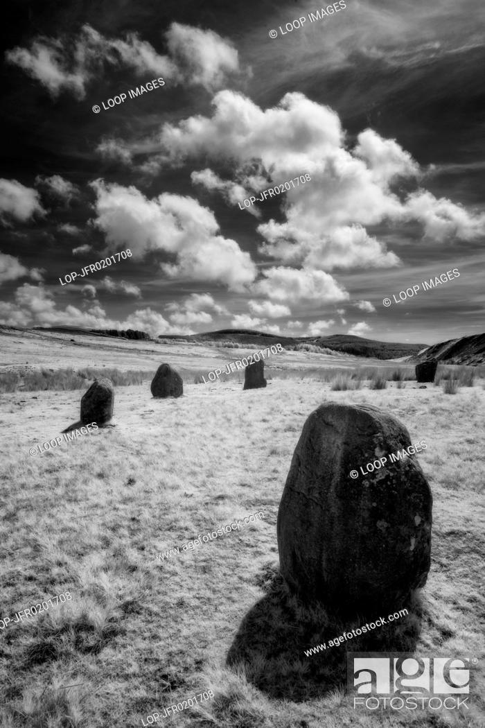 Stock Photo: Blakeley Rise Stone Circle in Cumbria.
